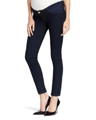 $J Brand Maternity Jeans - Skinny Legging in Ink - Bloomingdale's