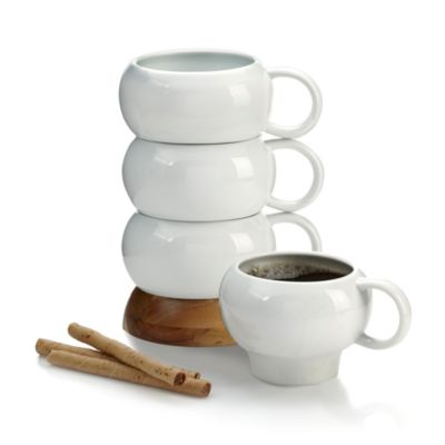 $Nambé Bulbo Stackable Mugs, Set of 4 - Bloomingdale's