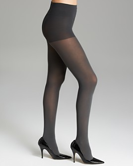DKNY - Opaque Coverage Control Top Tights