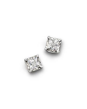 Diamond Princess Cut Stud Earrings, .50 ct. t.w. - 100% Exclusive