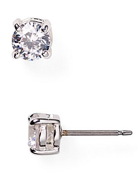 Ralph Lauren - Cubic Zirconia Stud Earrings, 5mm