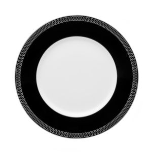 Monique Lhuillier Waterford Opulence Accent Plate, Navy