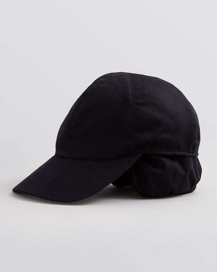 02afbd848c2 The Men s Store at Bloomingdale s - Cashmere Earflap Baseball Cap - 100%  Exclusive