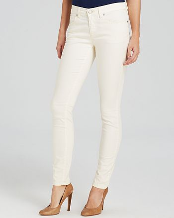 Eileen Fisher Petites - Slim Ankle Jeans in Ecru