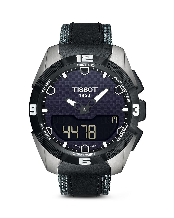 Tissot T-Touch Expert Solar Men's Titanium Watch, 45Mm In Black