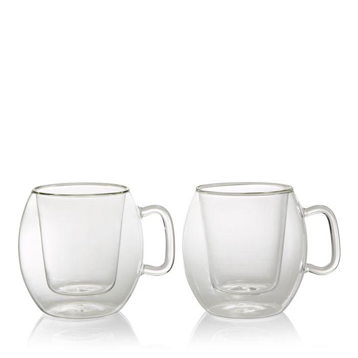 Luigi Bormioli - Thermic Café Supremo Mug, Set of 2