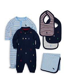 Ralph Lauren - Boys' Interlock Striped Footie - Baby