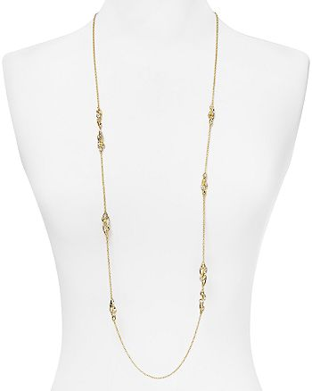 """Alexis Bittar - Starlight Marquis Cluster Station Necklace, 42"""""""