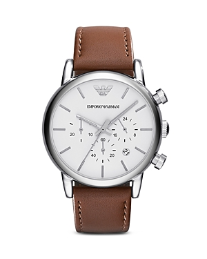 Emporio Armani 3-Hand Chronograph Watch, 41mm
