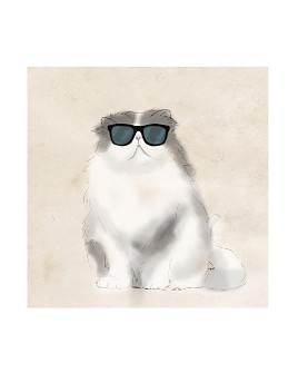 PTM Images - Cool Cat I Canvas Wall Art