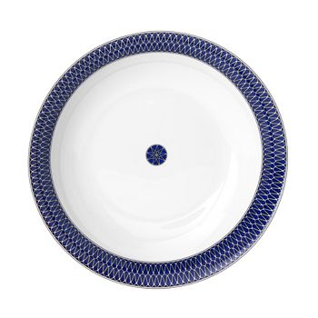 Royal Limoges - Blue Star Round Cake Platter