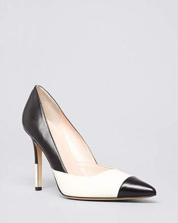 kate spade new york - Pointed Toe Cap Toe Pumps - Lenticia High-Heel