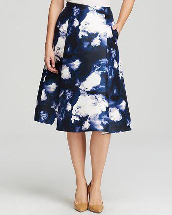 kate spade new york - Dusk Cloud Print Skirt