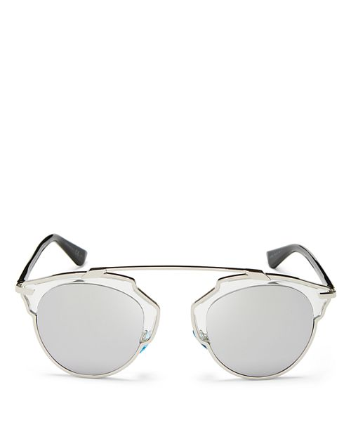 Dior - Women's So Real Mirrored Sunglasses, 48mm