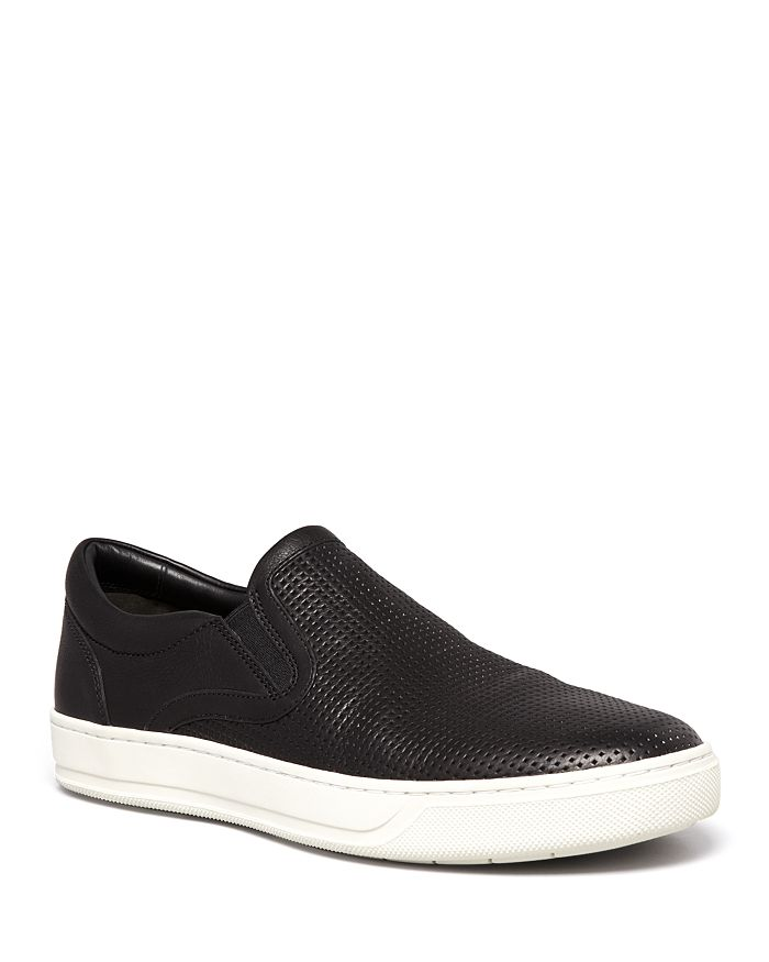 Vince - Men s Ace Perforated Weave Slip-On Sneakers 61fd475a98b1