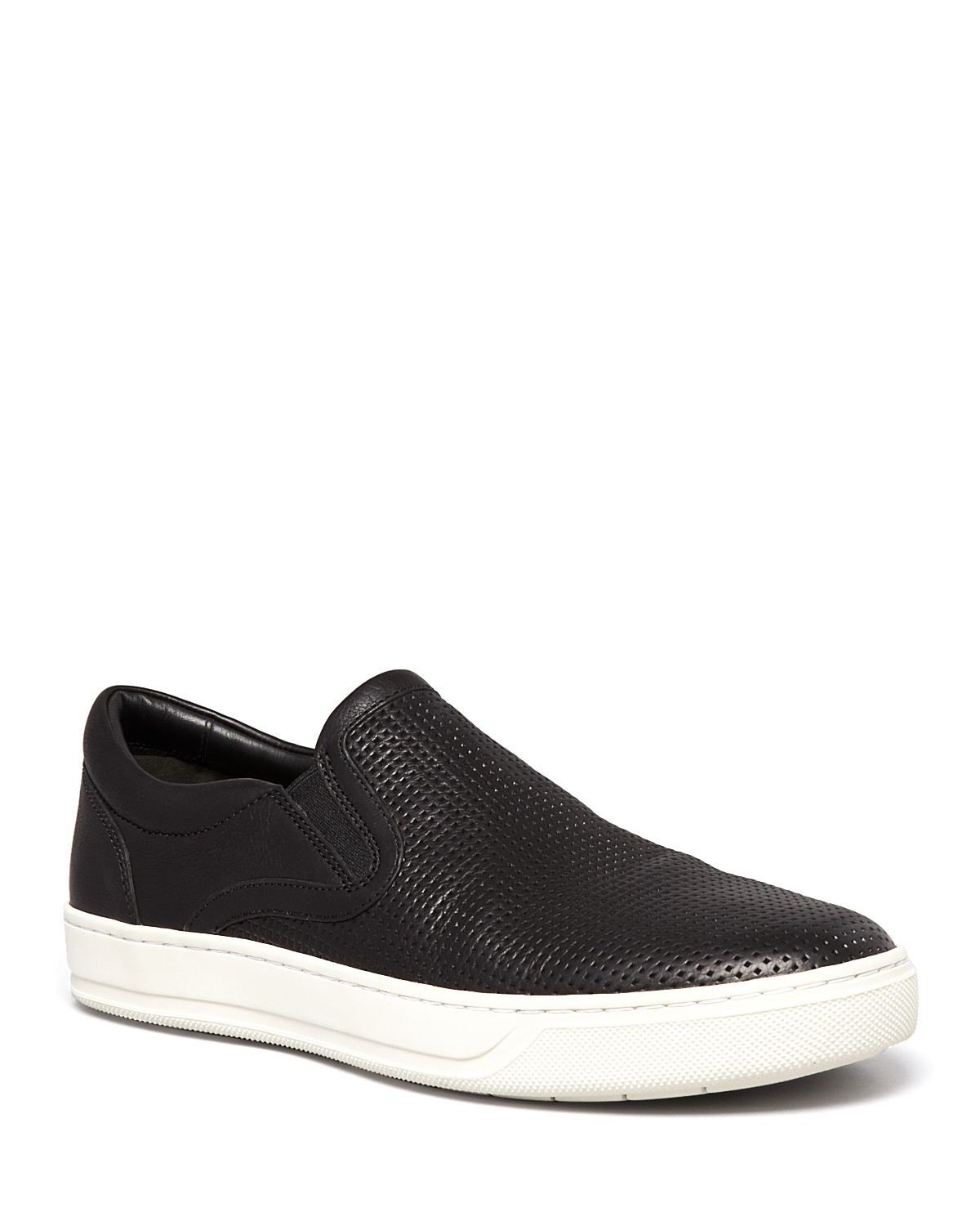 Vince Ace Perforated Slip-On Sneakers cCgmEF