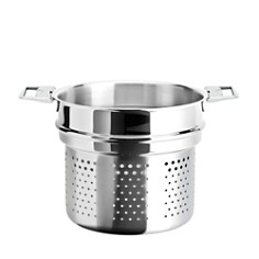Cristel - Casteline Tech 7-Quart Pasta Insert - Bloomingdale's Exclusive