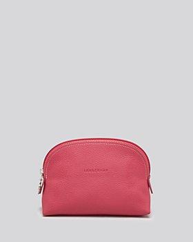 Longchamp - Le Foulonne Leather Cosmetics Case