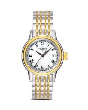 Tissot Two-Tone Carson Watch, 29.5mm