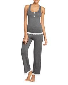 Honeydew - Racerback Long Pajama Set