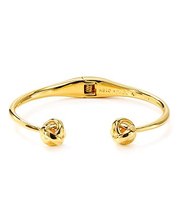 kate spade new york - Dainty Sparklers Knot Cuff