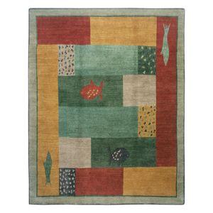 Tufenkian Artisan Carpets Lagoon Paintbox Area Rug, 10' x 10'