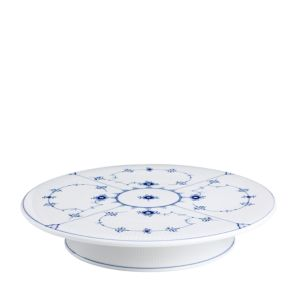 Royal Copenhagen Blue Fluted Plain Cake Platter