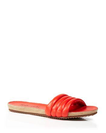 Splendid - Leather Slide Sandals - Tysan