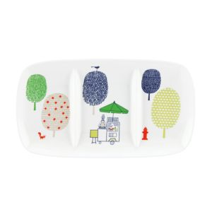 kate spade new york Hopscotch Drive About Town 3-Section Server