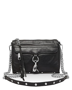 Rebecca Minkoff Mini Mac Leather Crossbody (846632766965 Handbags) photo