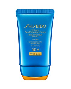 Shiseido - Ultimate Sun Protection Cream for Face SPF 50+ WetForce
