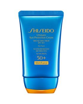 Shiseido - Ultimate Sun Protection Cream for Face SPF 50+ WetForce