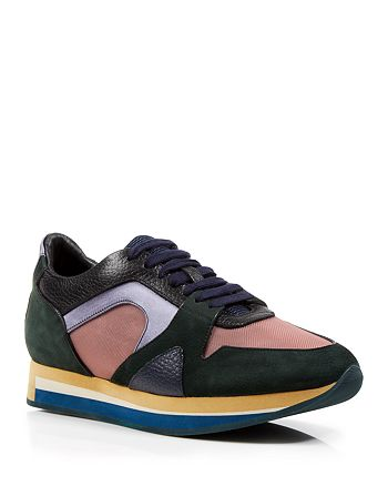 Burberry - Lace Up Sneakers - The Field Color Block