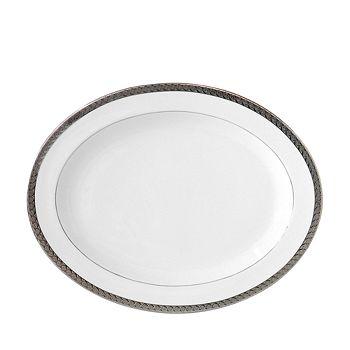 """Bernardaud - Torsade 13"""" Oval Platter"""