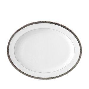 Bernardaud Torsade 13 Oval Platter