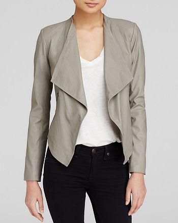 BB DAKOTA - Harper Soft Leather Jacket