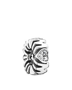 PANDORA Charm - Sterling Silver & Cubic Zirconia Mother's Pride, Moments Collection - Bloomingdale's_0