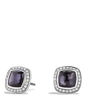 David Yurman - Albion Stud Earrings with Gemstones & Diamonds