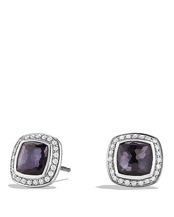 David Yurman - Albion Earrings with Lavender Amethyst and Diamonds