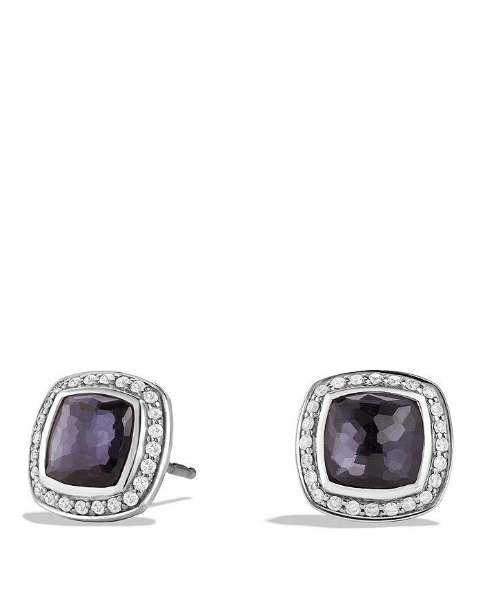 David Yurman - Albion Earrings with Lavender Amethyst and Diamonds