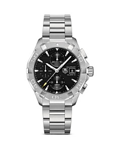 TAG Heuer Aquaracer Automatic Chronograph Watch with Black Dial, 43mm - Bloomingdale's_0