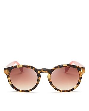 Fendi Round Sunglasses, 50mm