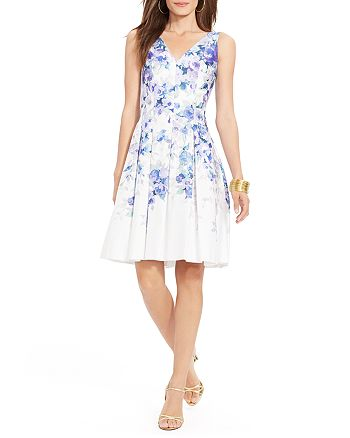 Ralph Lauren - Dress - Floral Print Pleated