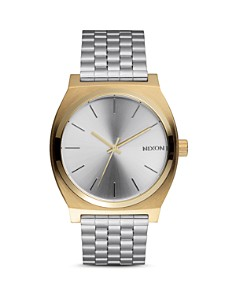 Nixon The Time Teller Two-Tone Watch, 37mm - Bloomingdale's_0
