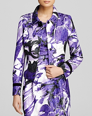 Basler Jacket - Metallic Floral
