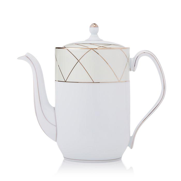 """Haviland - """"Claire De Lune"""" Arch Coffee Pot"""