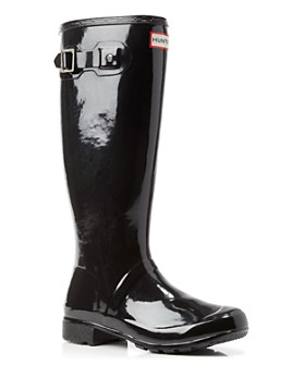 Hunter - Women's Original Tour Gloss Packable Rain Boots