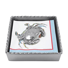 Mariposa - Crab Twist Napkin Box