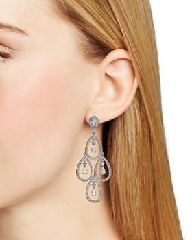 Nadri - Kite Chandelier Earrings