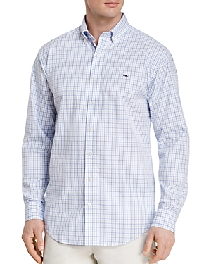 Vineyard Vines Tattersall Whale Classic Fit Button-Down Shirt